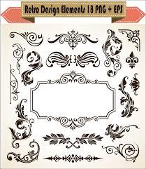 corner pattern png european pattern decor vintage decorative floral elements border