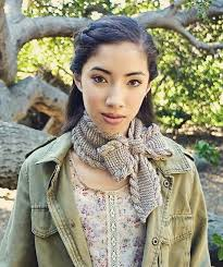 knitting pattern bow knot scarf bow tie ascot by pam powers project knitting scarves shawls