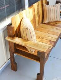 pallet bench plans google search recycling projects