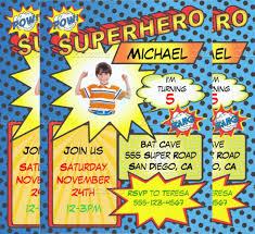 superhero newspaper invitation template 21 superhero birthday