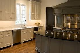 gray cabinets with black countertops two tone kitchen transitional kitchen driscoll design group