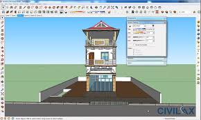 flat house design flat house design and render using google sketchup civil