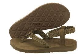 60 00 teva original sandal suede braid 1008676 bis women size 5