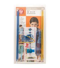 boye i taught myself to knit kits joann