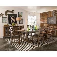 taos 7 piece dining room table with 6 side chairs bernie taos 7 piece dining room table with 6 side chairs