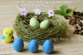 felted easter eggs felting easter eggs felting tutorial craft