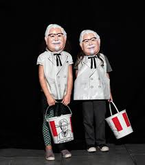 the colonel sanders vintage halloween costume will get you all the