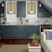 Grey Blue Cabinets Kitchen With Blue Cabinets Peenmedia Com