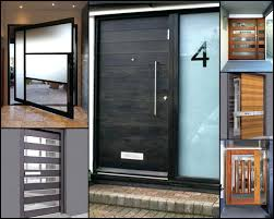 modern house front door design wood pinning style colors amazing