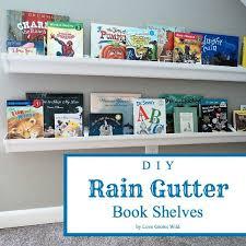 Space Saver Bookcase Best 25 Rain Gutter Shelves Ideas On Pinterest Bookshelves For