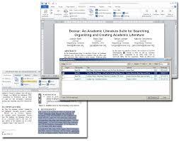overview u0026 details docear