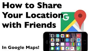 Map Mas Ios How To Share Your Location With Friends In Google Maps App For