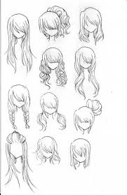 sketches of hair different hair sketches pictures photos and images for facebook