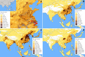 China Population Density Map by Will The H7n9 Avian Flu Spread To People Outside Mainland China