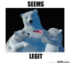 Coke Bear Meme - polar bears drinking coke now this i haven t seen by