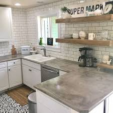 cement countertops beautiful cement countertops 39 for home kitchen cabinets ideas