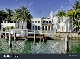 miami floridaoctober 30house star island neighborhood stock photo