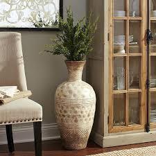 modern decorative 40 inch white large porcelain floor vase home