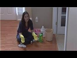 housekeeping tips how to get glue of hardwood floors