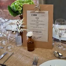 idee menu mariage cuisine tablette pour prã senter le menu de mariage de jolies idã