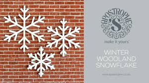 large indoor or outdoor snowflake decorations diy crafts easy