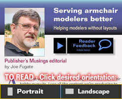 Armchaired Publisher U0027s Editorial Serving Armchair Modelers Model Railroad