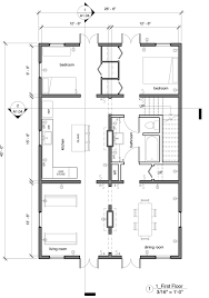 one story house plans with open concept plan 1275 floor plan