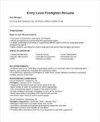 Fire Department Resume Download Firefighter Resume Haadyaooverbayresort Com