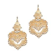 earrings for prom mariell gold top selling or prom filigree statement 4120e g