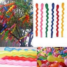 wedding party decorations 100x helium twist wave spiral balloons