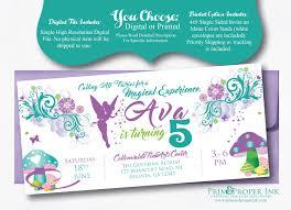 fairytale invitations tinkerbell invites fairy party invites