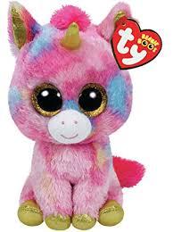 ty beanie boo plush fantasia unicorn 15cm ty amazon uk