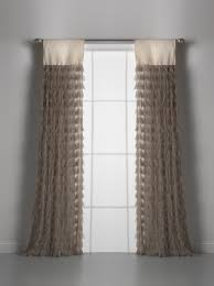 Brown And Ivory Curtains Window Panels And Curtains Free Shipping Couture Dreams