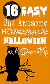 ideas for halloween decorations homemade easy halloween