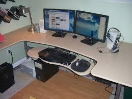 Computer Desk Setup Ideas Stunning Ergonomic Computer Desk Setup U2013 Interiorvues