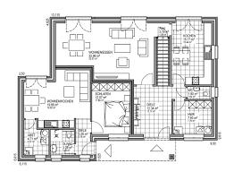 Haus Grundriss Bauunternehmen Für Massive Effizienzhäuser Individuell Geplant