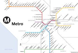 la metro rail map los angeles metro rail map commonground creative