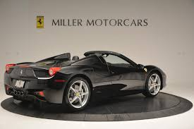 used 458 spider 2013 458 spider stock 4309 for sale near greenwich ct