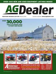 agdealer western ontario edition march 2014 by farm business