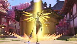 halloween mercy background overwatch halloween loot boxes leak on xbox store