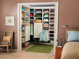 Organizing Bedroom Closet - l shaped white lacquer oak wood wardrobe without door master