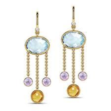 Chandelier Earrings India Gemstone Chandelier Earrings Jewellery India Caratlane