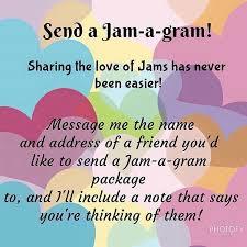 send a gram s day jam a gram send your favourite friend or secret