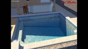 Small Pool Designs For Small Yards by Beach Edge Pools Design For Small Area In Yard Youtube