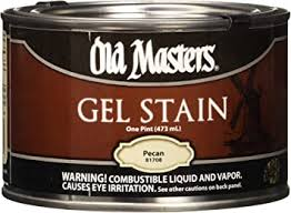 masters gel stain kitchen cabinets masters 81708 gel stain pint pecan