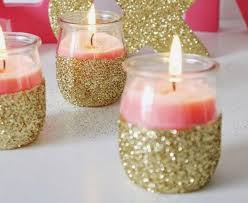 Candle Centerpieces For Birthday Parties by Best 25 Glitter Candles Ideas Only On Pinterest Glitter Candle