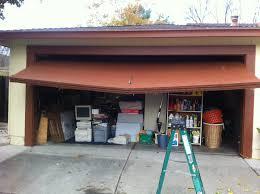 Garage Awning Kit Garage Doors Imposing Garager Noise Photo Design Quiet Kit