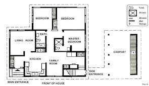 house plans no garage 3 bedroom house plans no garage contemporary 3 bedroom house plan