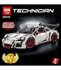 technic porsche 911 gt3 rs buy lepin 20001b building blocks toys technic porsche 911 gt3 rs