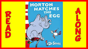 horton hatches egg dr seuss aloud book